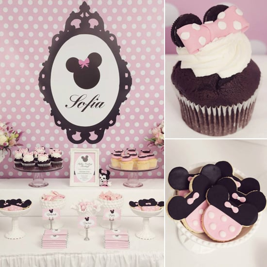 Pink Minnie Mouse Birthday Party