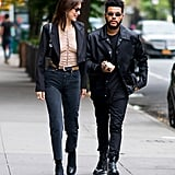 Bella Coordinated With The Weeknd on Her Birthday in NYC