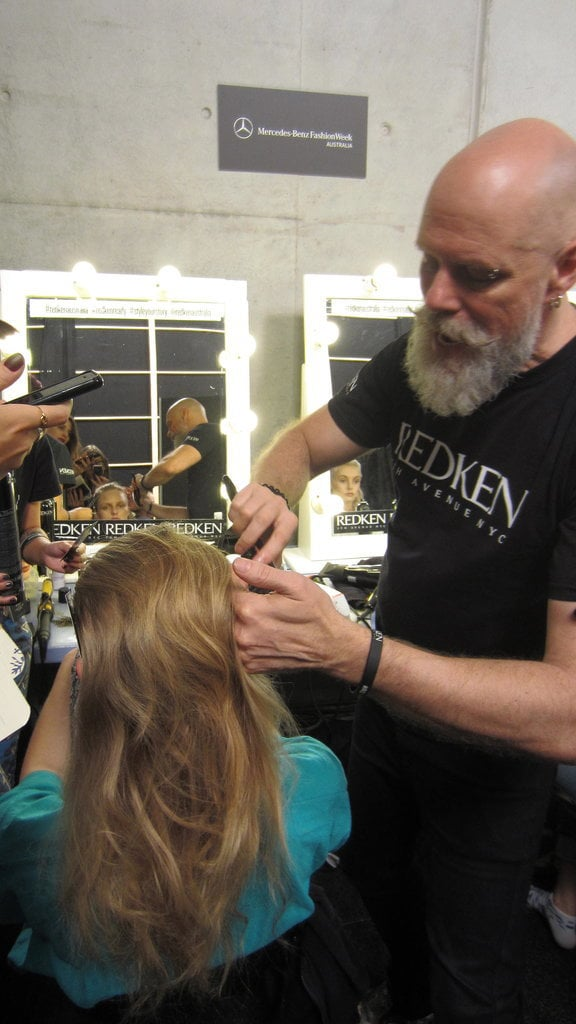 Philip Barwick, Redken Hair Director