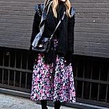 Style a Feminine Full Skirt