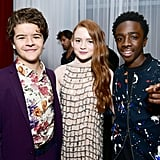 Pictured: Gaten Matarazzo, Sadie Sink, and Caleb McLaughlin