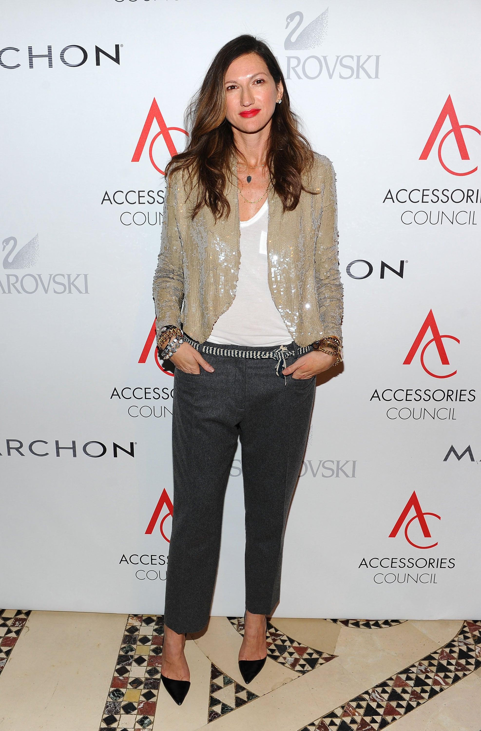 Along with boyfriend jeans, Lyons and J.Crew were at the cutting edge of bringing sequins into daytime.