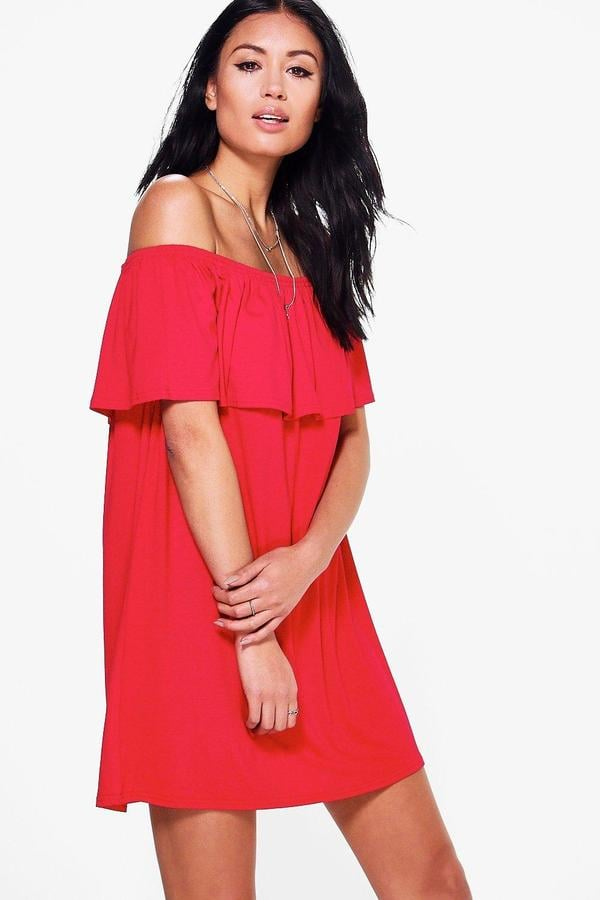 Boohoo Pixie Swing Dress