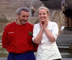 Youngest MasterChef Australia Contestant Ellie Paxton-Hall Wins Immunity Pin Against Cesare Casella in New York