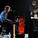 Jay Z joined Coldplay onstage in 1999.