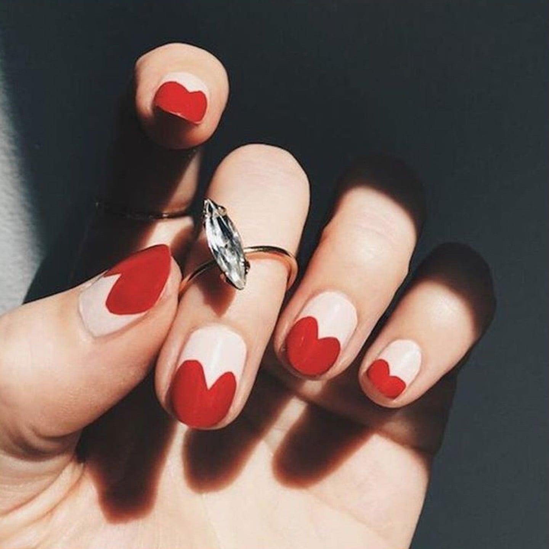 Instagram Valentine\'s Day Nail Art Inspiration | Latina | POPSUGAR ...