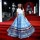 Liya Kebede at the British Fashion Awards 2019