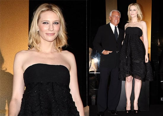 Cate B Shows the Armani Love
