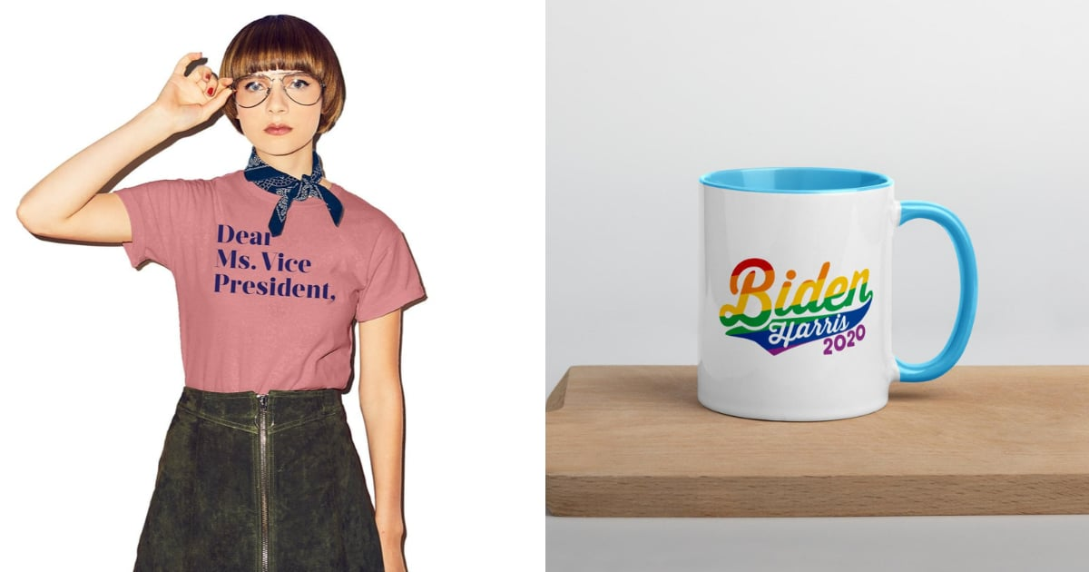 Inauguration Day Couldn't Come Sooner — Check Out the Best Biden-Harris Merch Now