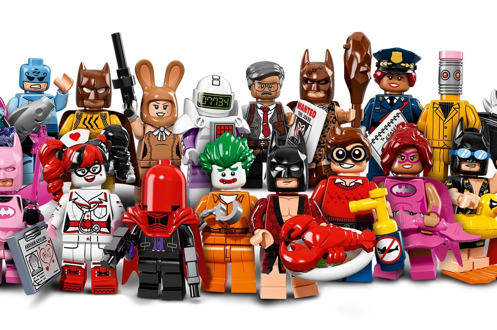 Lego Batman Movie Minifigures