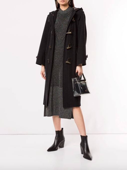 Burberry Pre-Owned Toggle Fastening Coat
