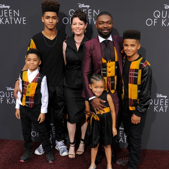 David Oyelowo and Family Wear Matching Outfits Sept. 2016