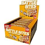 Battle Bites High Protein Caramel Pretzel Bars