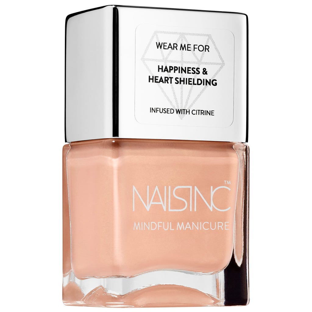 The Mindful Manicure Future's Bright Nail Polish in Nude Gold