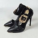 Buckle-Adorned Heels
