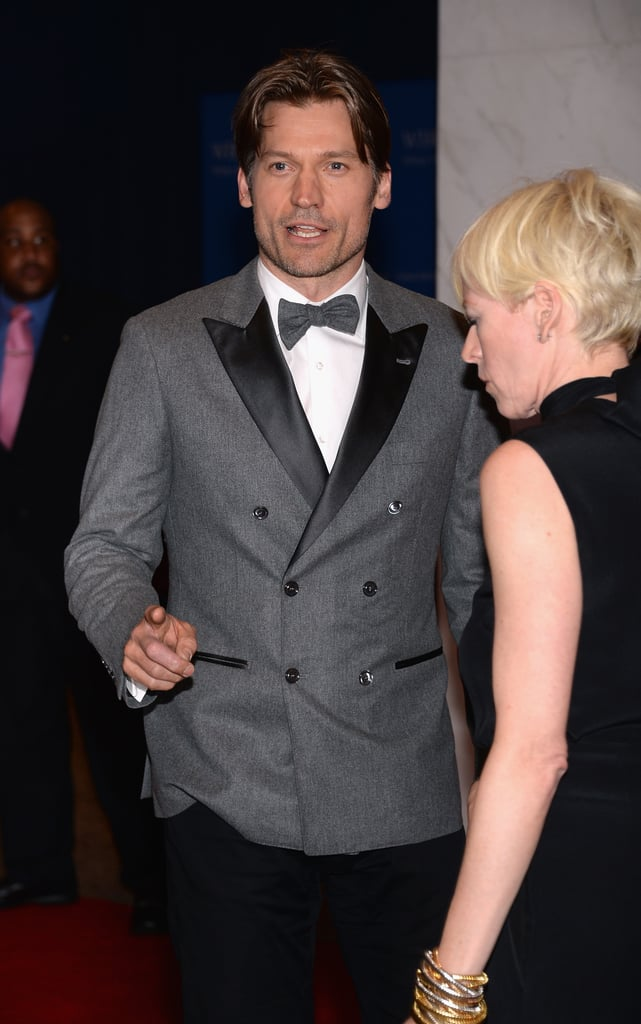 Nikolaj Coster-Waldau attended the 2013 White House Correspondents Dinner.