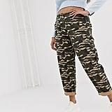 ASOS Design Curve Camo Combat Pants