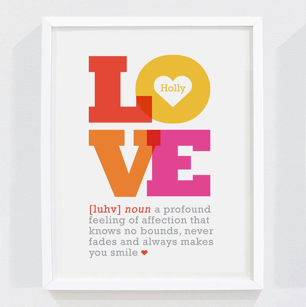 Personalized Definition of Love