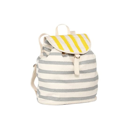 This Arizona washed striped backpack ($25) is perfect for summertime days at the office and the warm weather ahead.