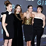 The girls of Girls pulled out all the fashion stops at their season two premiere.