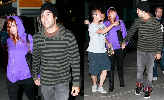 Pete Wentz and Ashlee Simpson Enjoy the Sex and the City Movie