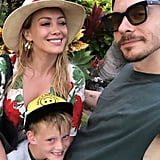 Hilary Duff and Matthew Koma Family Pictures in Hawaii 2019