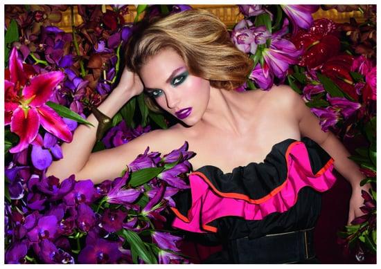 Yves Saint Laurent Autumn Winter Makeup Collection 2011 Starring Arizona Muse
