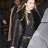 Such an edgy look for Gigi!