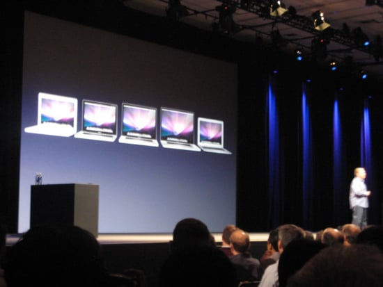 Cheaper MacBook Air Announced at 2009 WWDC Apple Keynote