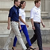 Kate Middleton Wearing Stuart Weitzman Corkswoon Wedges