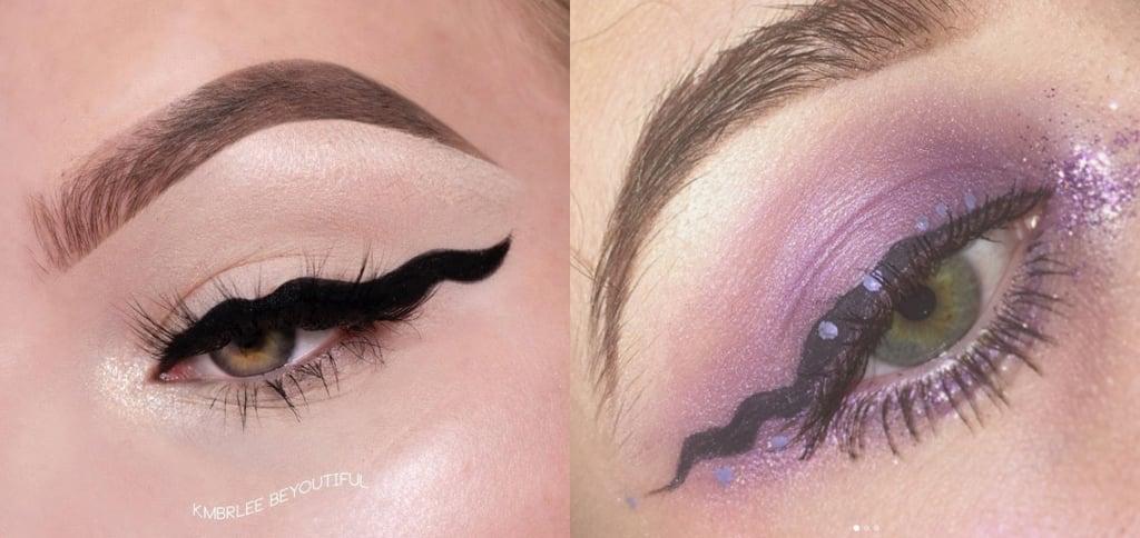 Squiggle Eyeliner Trend