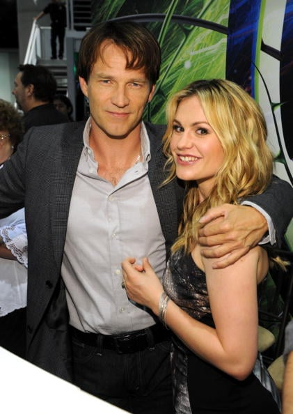 Anna Paquin and Stephen Moyer attended the True Blood panel at Comic-Con in San Diego in July 2010.