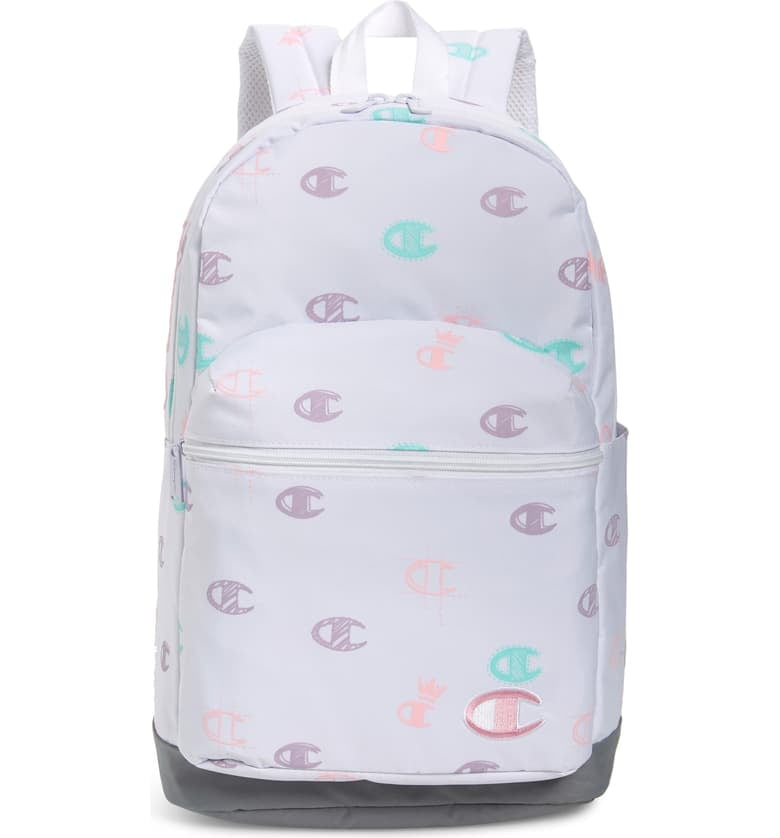 For 9-Year-Olds: Champion Youth Supercize Logo Backpack