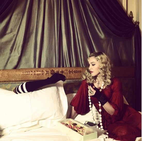 Madonna's Sock Puppet