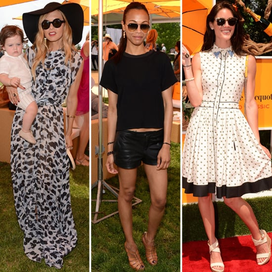 Best Dressed Celebrities From 2012 Polo Classic Popsugar Fashion