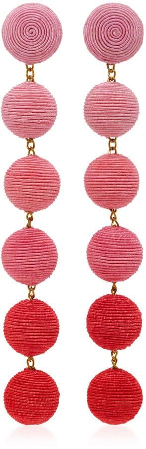 Rebecca de Ravenel Six Drop Ombré Earrings