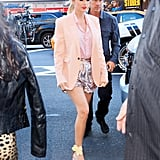 Taylor Swift's Flower-Strapped Pumps