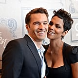 Halle Berry and Olivier Martinez had a sweet exchange.