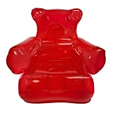 Inflatable Red Gummy Chair With Pump
