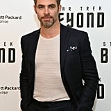 Chris Pine at Star Trek Beyond NYC Premiere 2016 | Pictures
