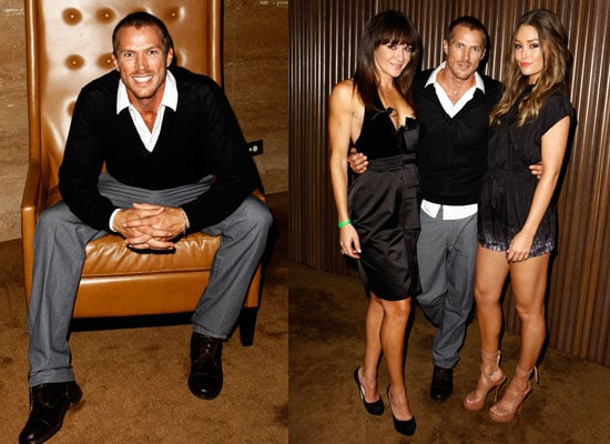 Jason Lewis Promotes Xbox 360 in Sydney with Erin McNaught and Michelle Bridges