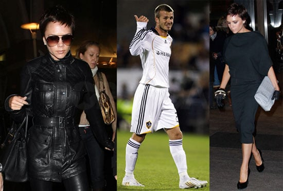 Photos of Victoria Beckham in NYC and LA, David Beckham on the field in New Zealand