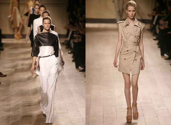 Photos of Celine Spring 2010 at Paris Fashion Week by Phoebe Philo