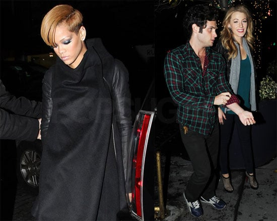 Photos of Blake Lively and Rihanna at SNL Wrap Party 2009-12-07 11:04:05