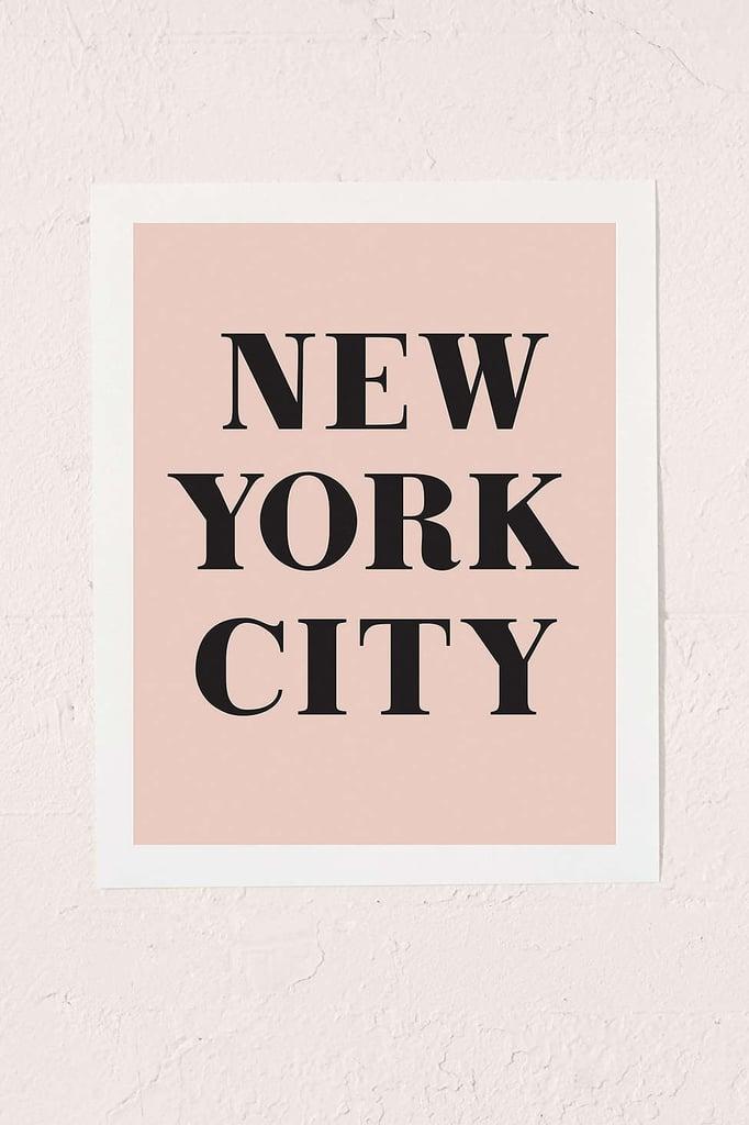 alphonnsine New York City Art Print ($19)