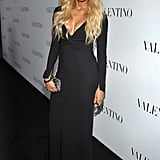 Ciara sported ombre hair at Valentino's 50th anniversary party in LA.
