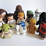 Star Wars Crocheted Plush Toys