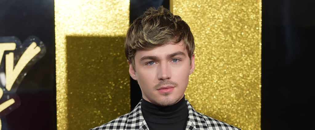We're Kinda Sorta Obsessed With Miles Heizer's Checkered Suit at the MTV Awards