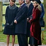 يُعرف عن صوفي مرافقتها لأفراد العائلة المالكة في المناسبات العلنيّة، مثلما حدث عندما ذهبت مع ميدلتون إلى كنيسة القدّيسة مريم المجدليّة في ساندرينغهام.