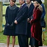 Sophie's known to accompany members of the royal family on outings, like when she went with the Middleton's to St. Mary Magdalene Church in Sandringham.